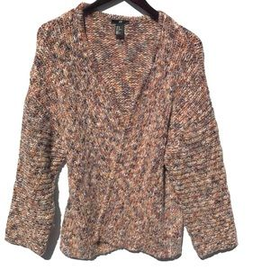 H&M || Open front knit cardigan - heavy!